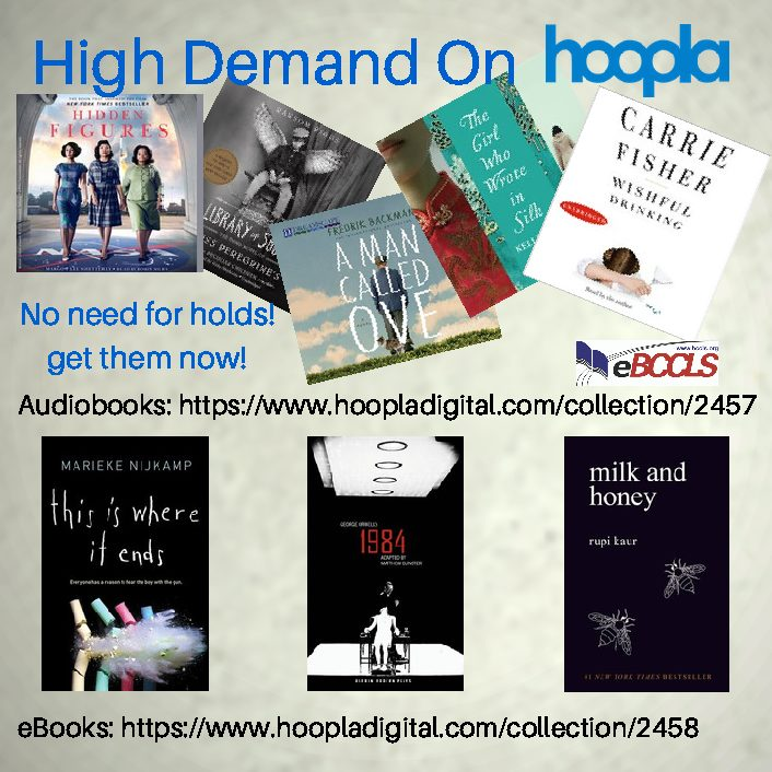 High Demand on Hoopla